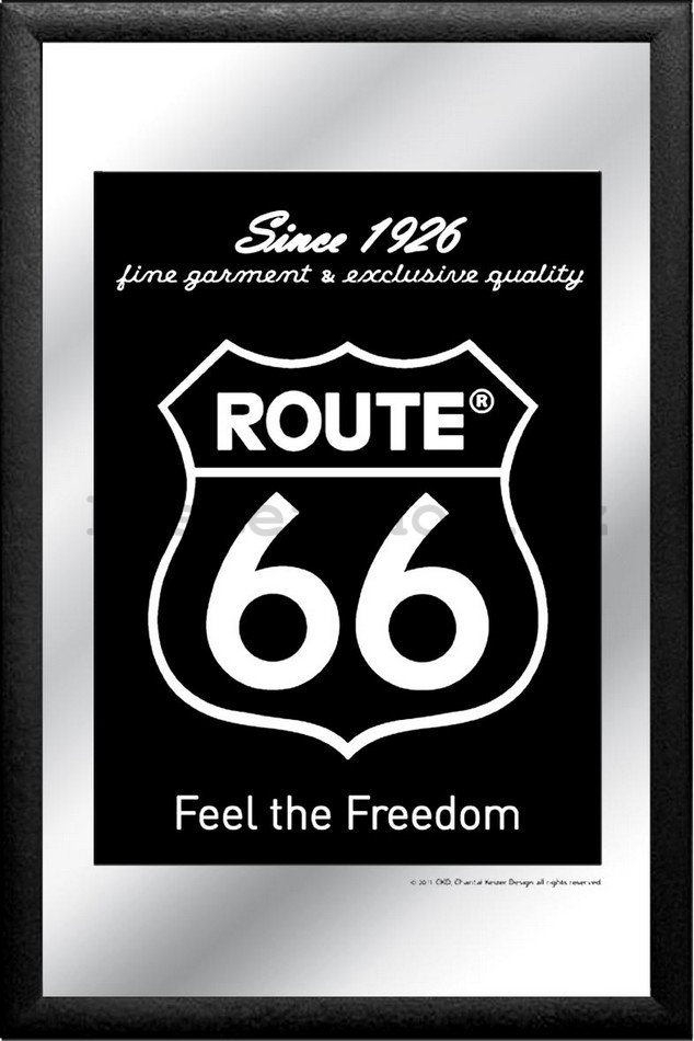 Zrcadlo - Route 66 (Feel the Freedom since 1926)