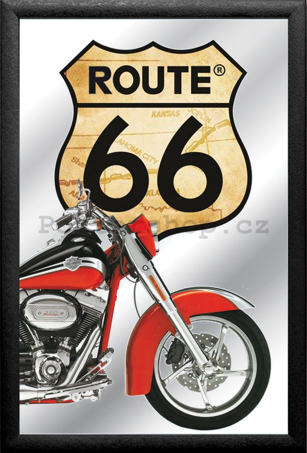 Zrcadlo - Route 66 (Harley)