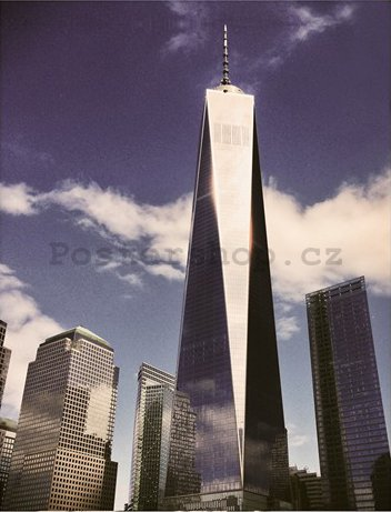 Obraz na plátně - One World Trade Center