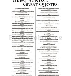 Fotoobraz - Great Minds...Great Quotes