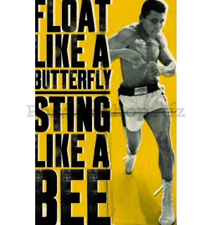 Fotoobraz - Muhammad Ali-Float like a butterfly