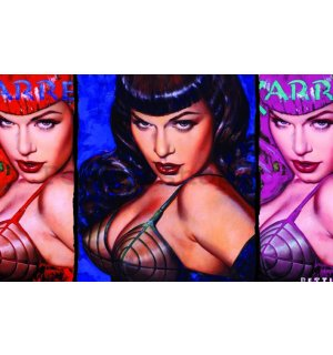 Fotoobraz - Bettie Page (Colours)