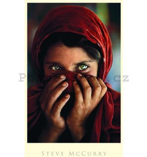 Fotoobraz - Afghan Girl (Steve McCurry)