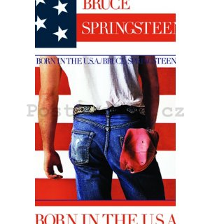 Fotoobraz - Bruce Springsteen Born in the USA