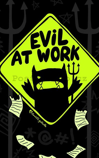 Fotoobraz - Evil at Work