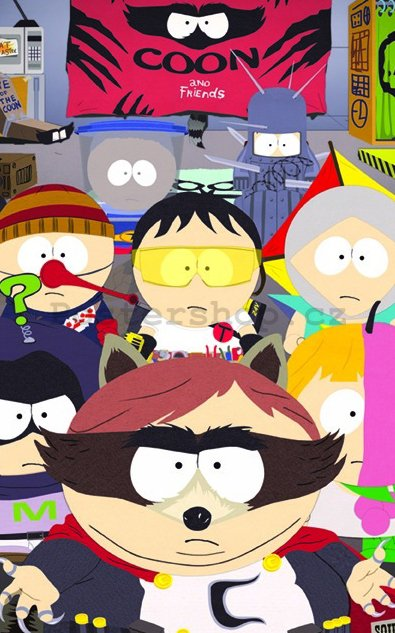 Fotoobraz - South Park (Coon and Friends