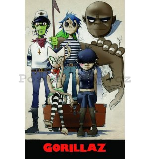 Fotoobraz - Gorillaz (All Here)