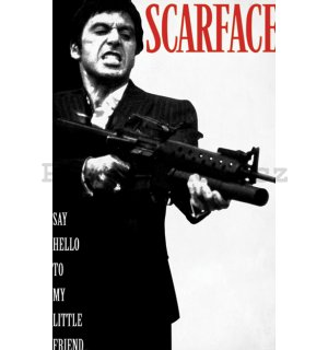 Fotoobraz - Scarface (Say Hello To My Little Friend)