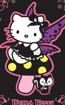 Fotoobraz - Hello Kitty gothic
