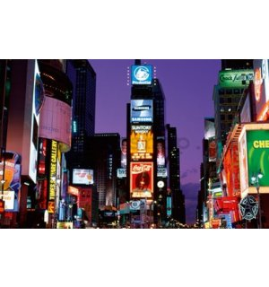Fotoobraz - New York Times square at night