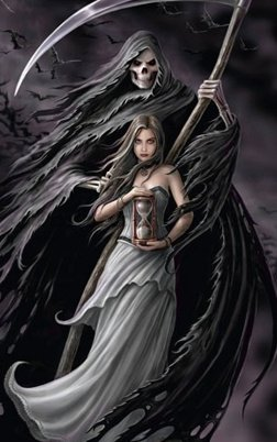 Fotoobraz - Anne Stokes summoning the reaper