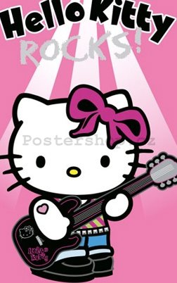 Fotoobraz - Hello Kitty rock