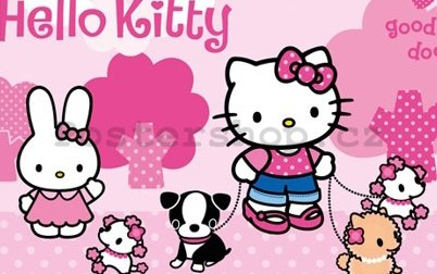 Fotoobraz - Hello Kitty dog