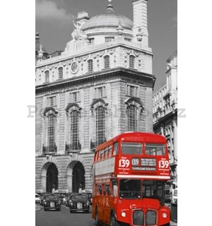 Fotoobraz - London Red Bus (2)
