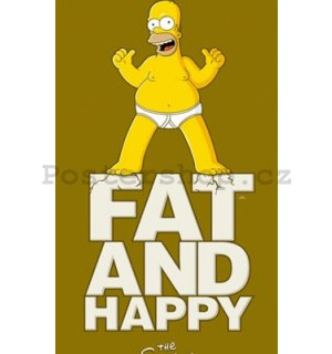 Fotoobraz - Simpsons fat and happy