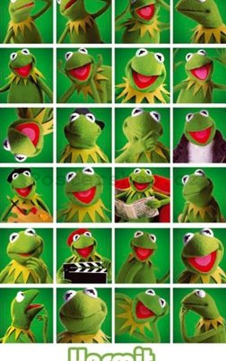 Fotoobraz - The Muppets kermit collage