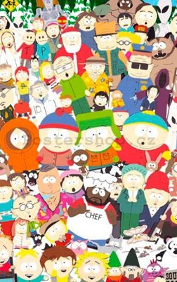 Fotoobraz - South Park cast