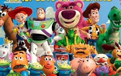 Fotoobraz - Toy Story 3 cast