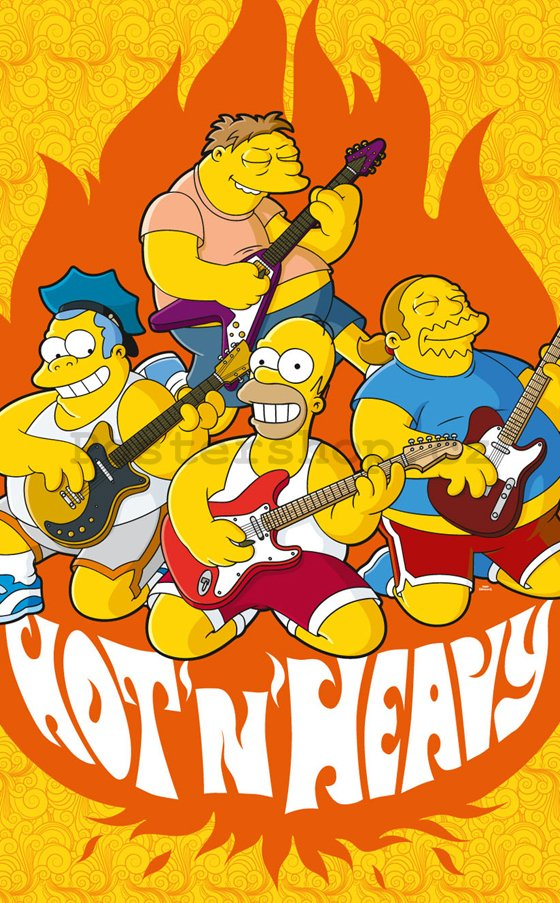Fotoobraz - Simpsons hot and heavy