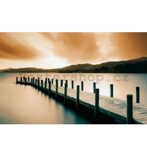 Fotoobraz - Wooden Landing Jetty-color