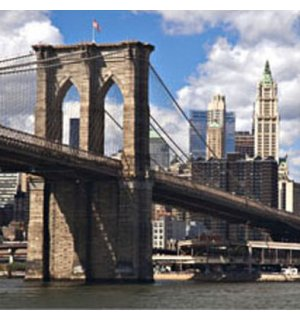 Obraz na skle - Brooklyn Bridge