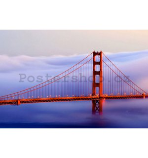Obraz na skle - Golden Gate Bridge (1)