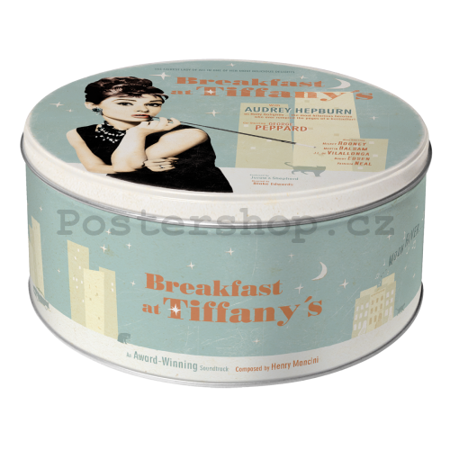 Plechová dóza - Breakfast At Tiffany's