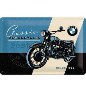 Plechová cedule – BMW (Classic motorcycles)