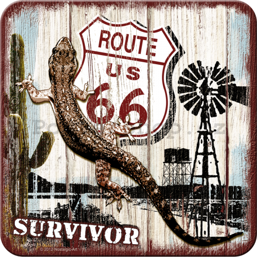 Sada podtácků 2 - Route 66 (Survivor)