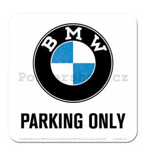Sada podtácků 2 - BMW Parking Only