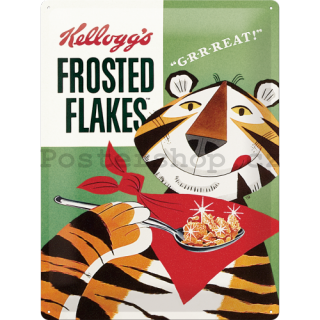 Plechová cedule – Frosted Flakes