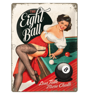 Plechová cedule - The Eight Ball