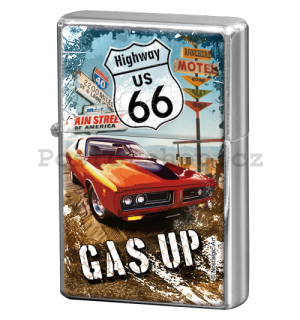 Retro zapalovač – Route 66 Gas Up Box