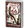 Retro zapalovač – Route 66 Survivor
