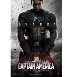 Plakát – Captain America First Avenger