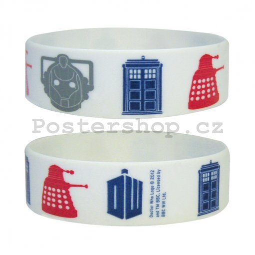 Náramek - Doctor Who (Icons)