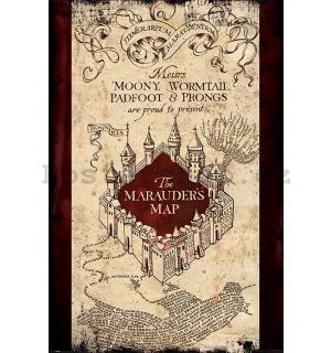 Plakát - Harry Potter (The Maurader's Map)