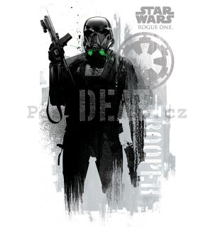 Plakát - Star Wars Rogue One (Death Trooper)