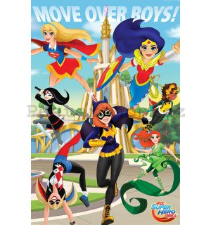 Plakát - DC Super Hero Girls