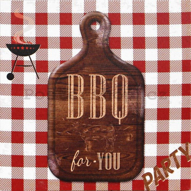 Obraz na plátně - BBQ for You