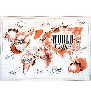 Obraz na plátně - World Coffee