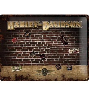 Cedule s magnety - Harley-Davidson