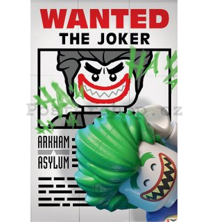 Plakát - LEGO Batman (Wanted the Joker)