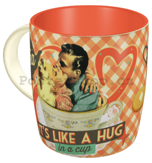 Hrnek - Tea It's Like a Hug in a Cup