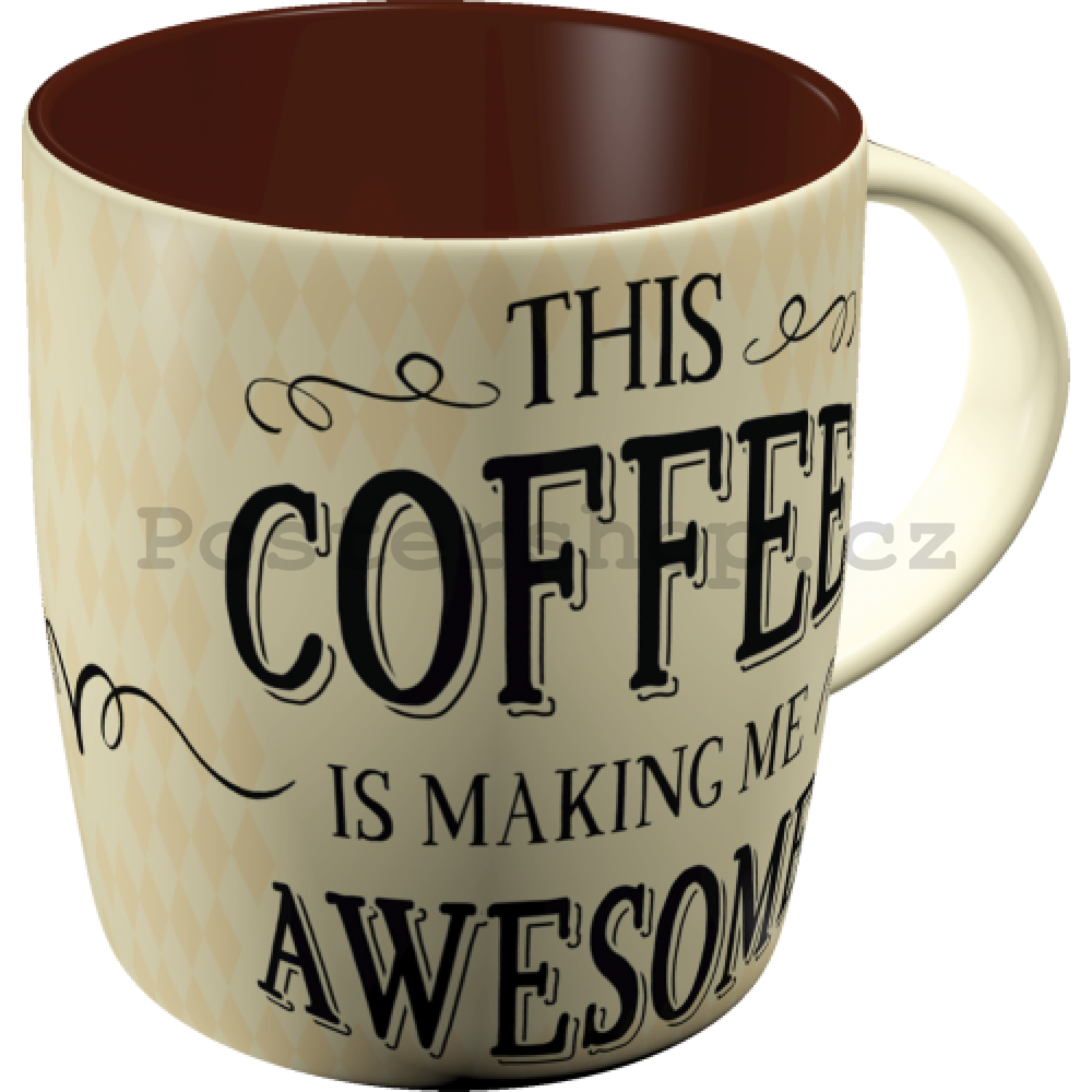Hrnek - This Coffee is Making Me Awesome