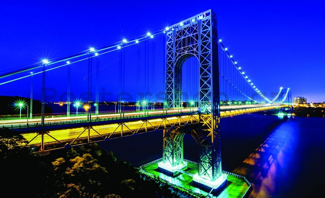 Fototapeta - Manhattan Bridge