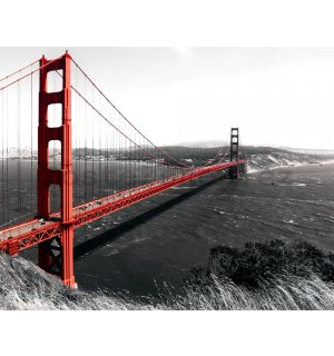 Fototapeta: Golden Gate Bridge (1) - 184x254 cm