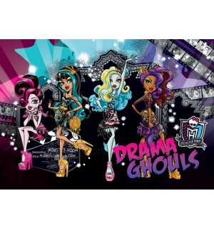 Fototapeta: Monster High (Drama Ghouls) - 184x254 cm