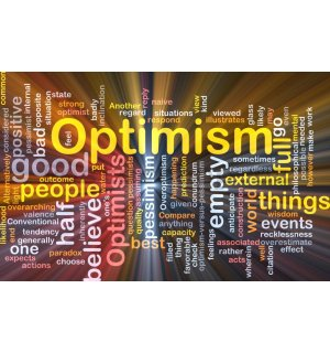 Fototapeta: Optimism - 184x254 cm