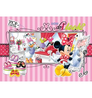 Fototapeta - Minnie Shop together